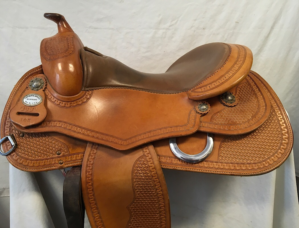 "Used Saddle:Used Continental Reiner 16"" - Image Number:0"